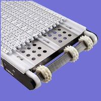 Conveyors offers perforated belt option.