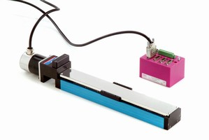 SKF 'PICO' Miniature Linear Stages Enable 'Pick-and-Place' Positioning