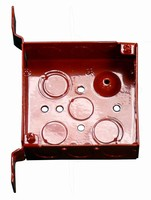 Outlet Boxes and Covers help identify fire alarm circuits.