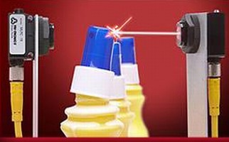 Miniature Laser Sensors provide 200 ft range.