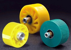 Cushion Rollers suit material handling applications.