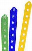 Reuseable Plastic Ties come in custom lengths.