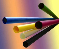 Heat Shrinkable Tubing protects and insulates cable.