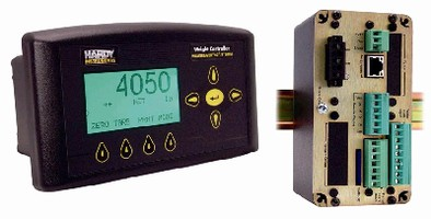 Weight Controller features Allen-Bradley remote I/O.