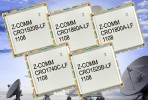 L-Band Coaxial Resonator Oscillators offer low phase noise.