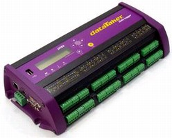Data Logger includes web interface.