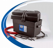 Kits help relocate vehicle batteries.