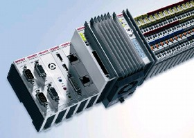 Embedded PC meets automation and control requirements.
