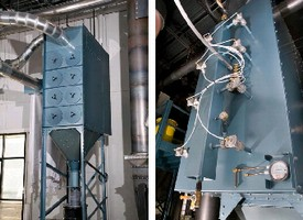 Dust Collectors eliminate OSHA confined space entry hazard.