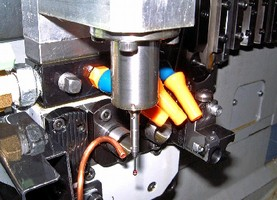 Touch Probing System gauge mill-turned components.
