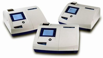 Spectrophotometers feature touchscreen interface.