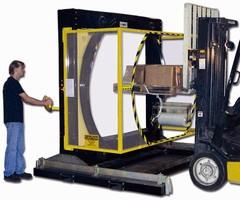 Orbital Stretch Wrap Machine comes in 87 in. dia model.