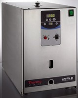 Laboratory Circulator heats and cools external applications.