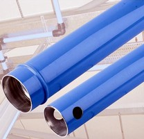 Modular Piping System comes in 76 and 100 mm diameters.