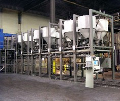 Batching System processes multiple recipes at high speeds.