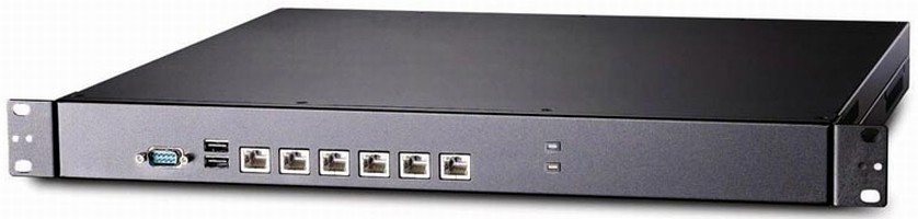 Network Security Appliance offers 6 Gbit Ethernet ports.