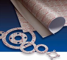 PTFE Gasketing exhibits strength, dimensional stability.