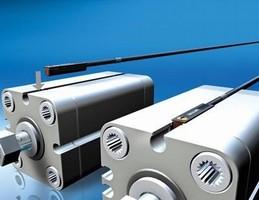 Sensor targets C-slot pneumatic cylinders.