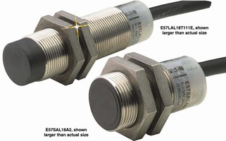 Inductive Proximity Sensors suit limited space applications.