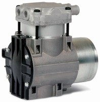 Brushless dc Pump provides variable output.