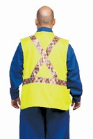 Safety Vests target emergency personnel.