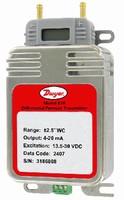 Pressure Transmitter measures low dfferential pressure.