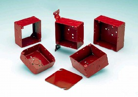 Fire Alarm Boxes and Fittings provide visual identification.