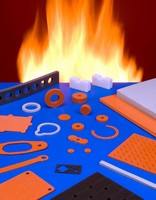 Silicone Gaskets and Seals offer fire/toxicity protection.