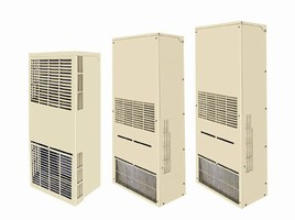Panel Mount Air Conditioners are NEMA 4/4X-rated.