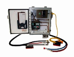 Lubrication System applies high viscosity lubricant.