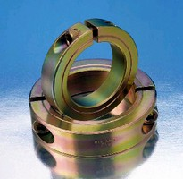 Shaft Collars feature RoHS-compliant yellow zinc plating.