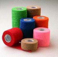 Cohesive Medical Bandages serve as compression wrap.