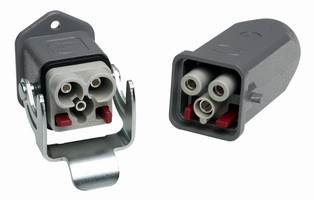 Electrical Insert features axial screw termination.