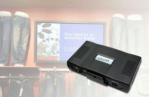 Digital Media Player is for in-store retail promotions.