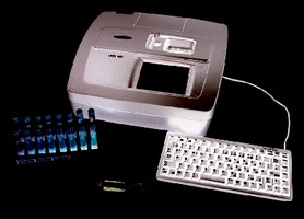 Spectrophotometer provide measurement within 7 sec.