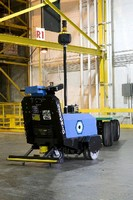 Mobile Robot suits material handling applications.