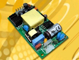 AC-DC Power Supplies feature low 0.79 in. profile.