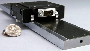 Linear Stepper Motor features 1 micron resolution.