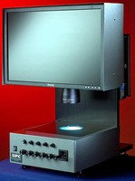 Optical System performs non-contact dimensional analysis.