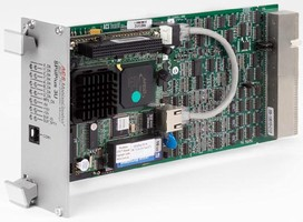 Rack-Mount Motion Controller commands precision operation.
