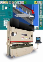 Hydraulic Press Brake offers ram speeds of up to 700 ipm.
