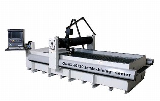 Dual Pump Package enables waterjet cutting at 80 hp.