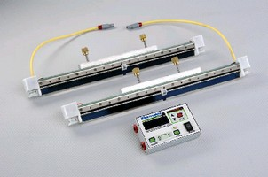Squeegee System features self-cleaning design.