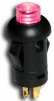 Snap-In Panel-Mount Switch offers bi-color illumination.