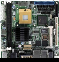 Embedded Motherboard delivers multitask processing.