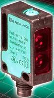 Miniature Background Suppression Sensors have 350 mm range.