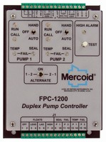 Duplex Pump Controller targets wastewater lift stations.