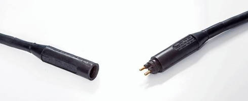 Connectors and Receptacles feature quick disconnect design.