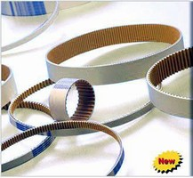 Non-Marking Timing Belt minimizes dust generation.