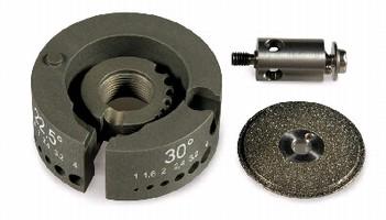 Accessories optimize tungsten grinder performance.